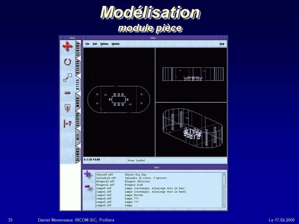 Modélisation module pièce