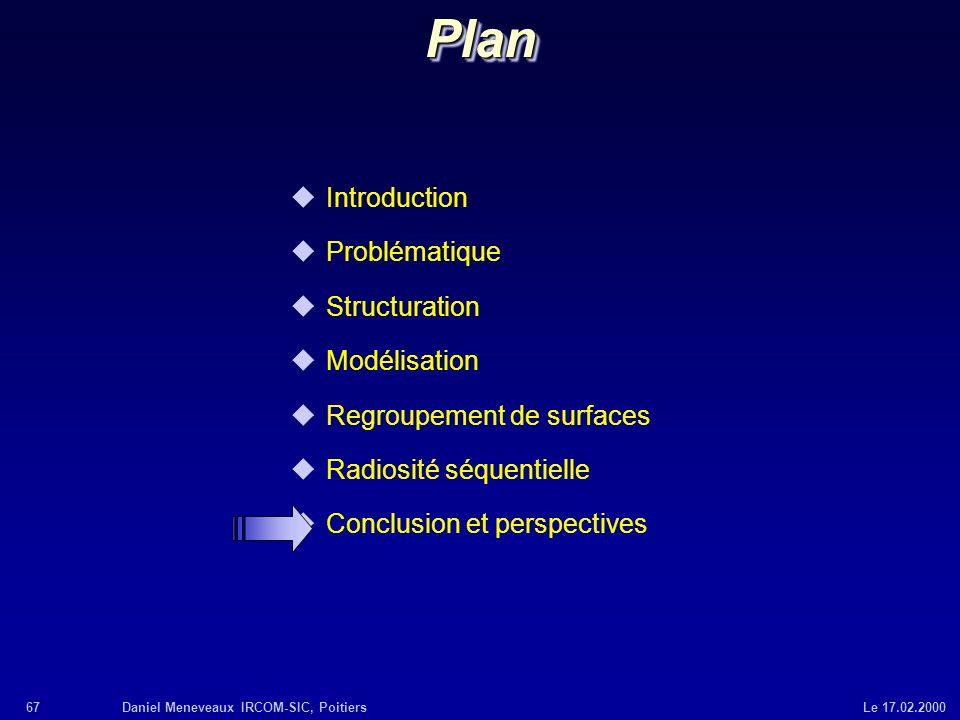 Plan Introduction Problématique Structuration Modélisation