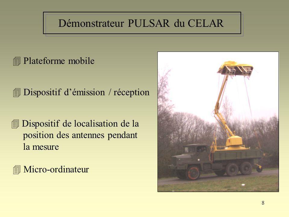 Démonstrateur PULSAR du CELAR