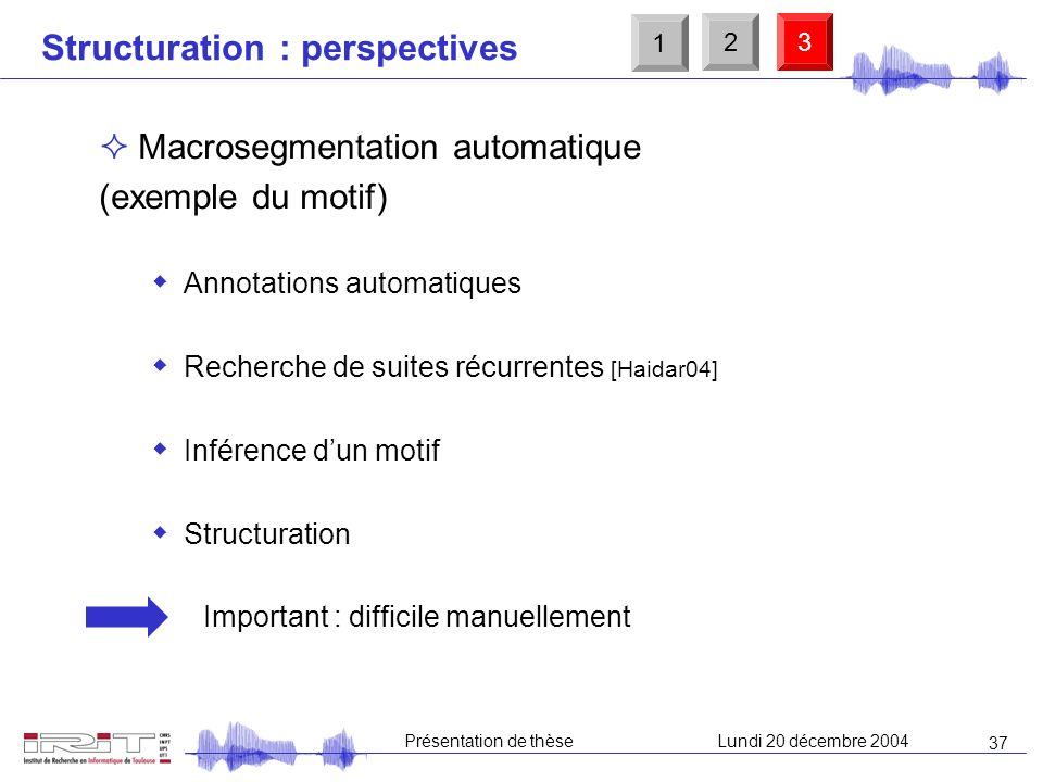 Structuration : perspectives
