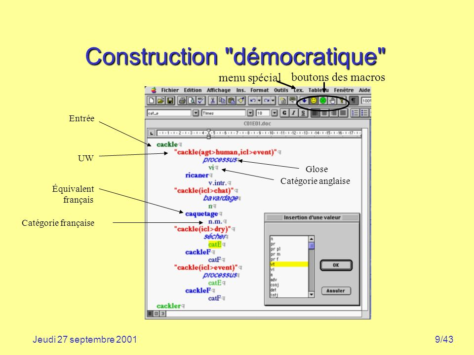 Construction démocratique