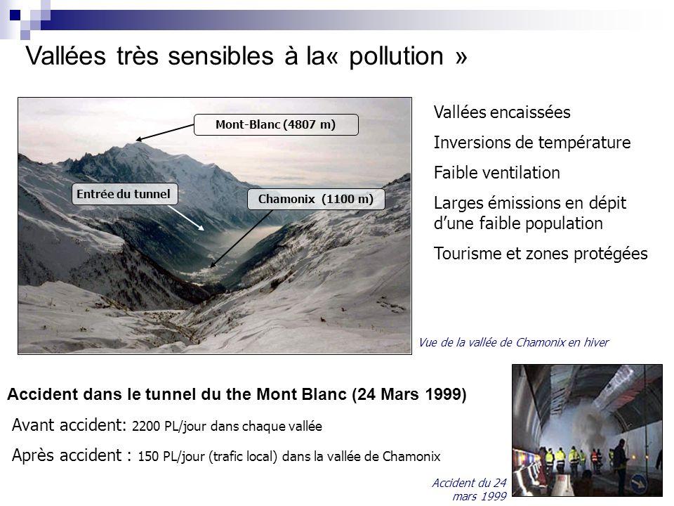 Vallées très sensibles à la« pollution »
