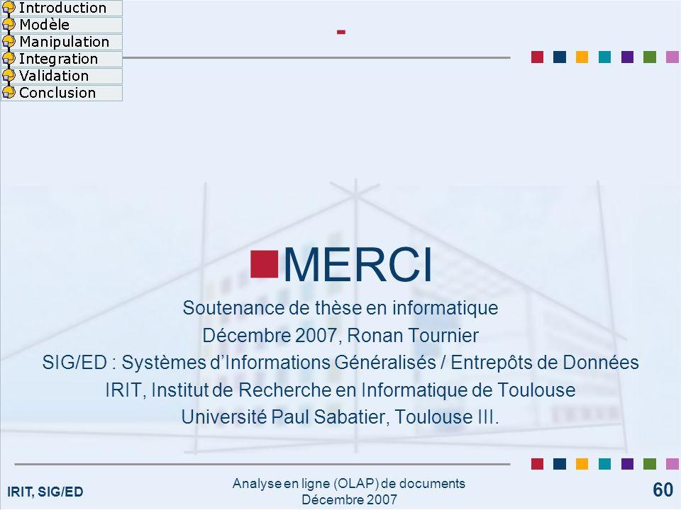 MERCI - Soutenance de thèse en informatique