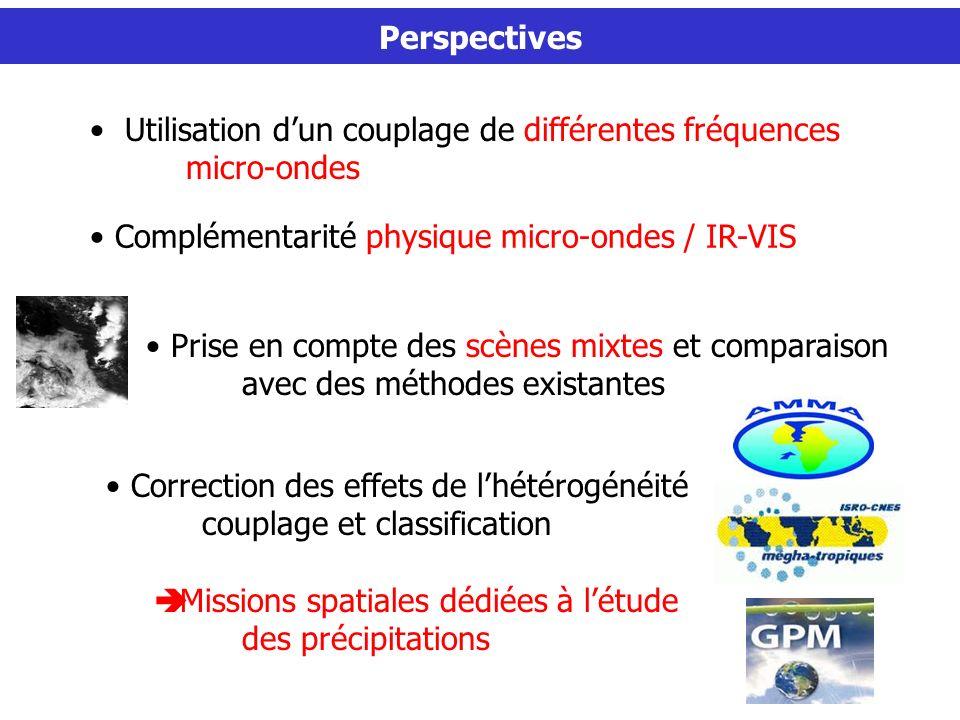 Utilisation d'un couplage de différentes fréquences micro-ondes