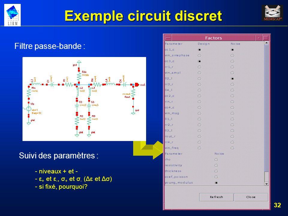 Exemple circuit discret