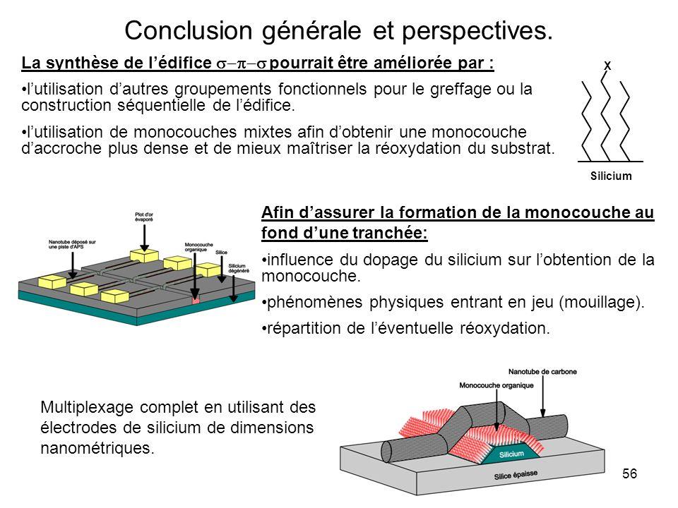 Conclusion générale et perspectives.