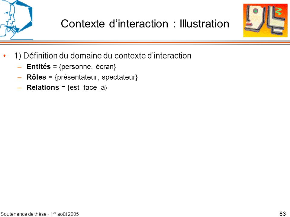 Contexte d'interaction : Illustration