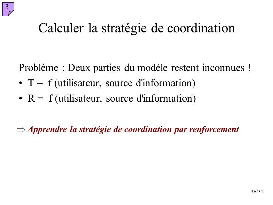 Calculer la stratégie de coordination