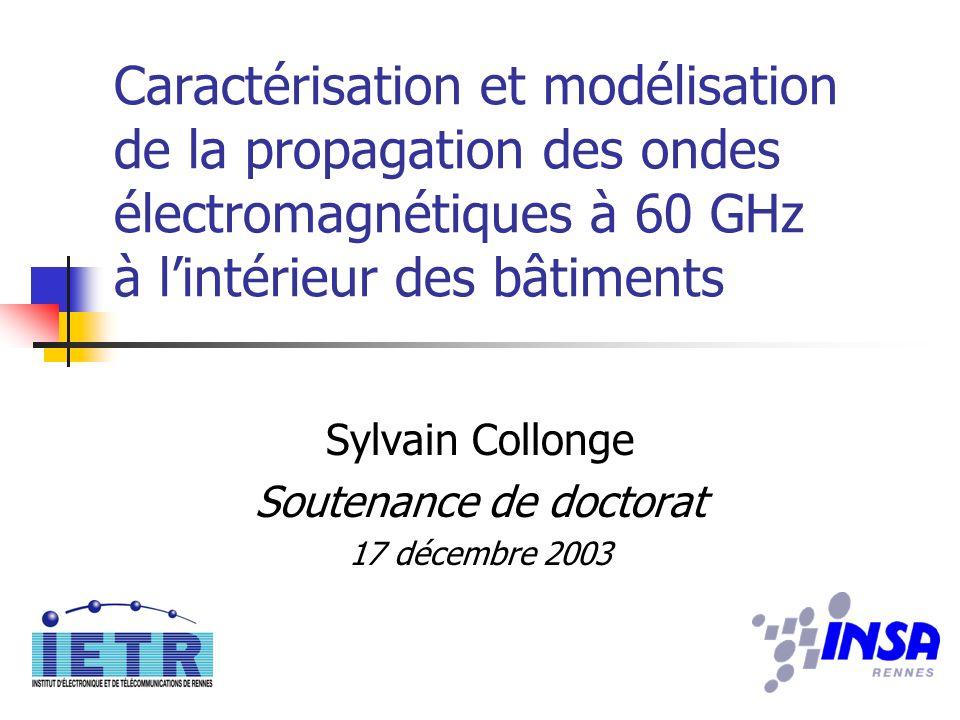 Sylvain Collonge Soutenance de doctorat 17 décembre 2003
