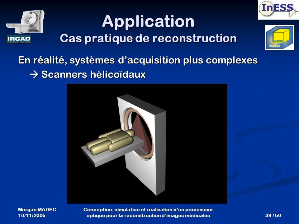 Application Cas pratique de reconstruction