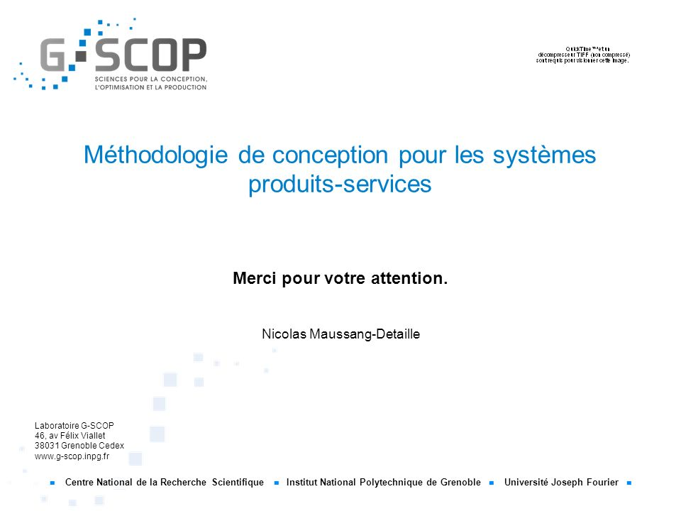 Méthodologie de conception pour les systèmes produits-services