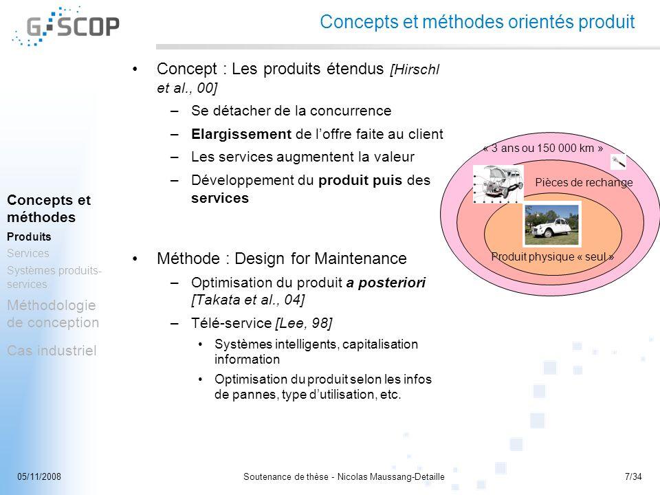 Concepts et méthodes orientés produit