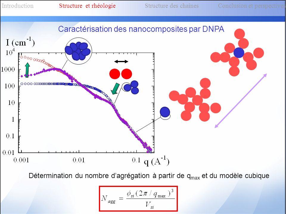 Caractérisation des nanocomposites par DNPA