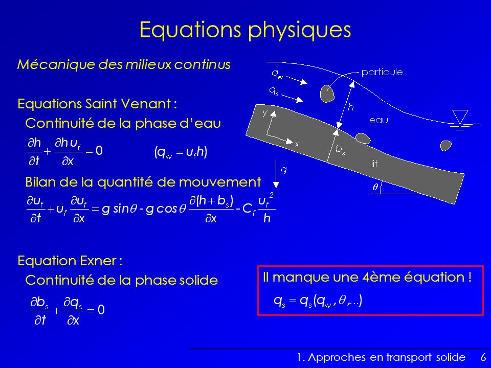 Equations physiques Mécanique des milieux continus