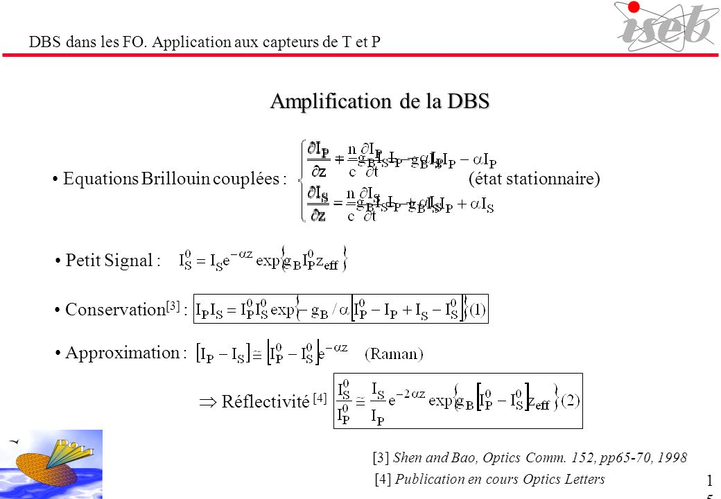 Amplification de la DBS
