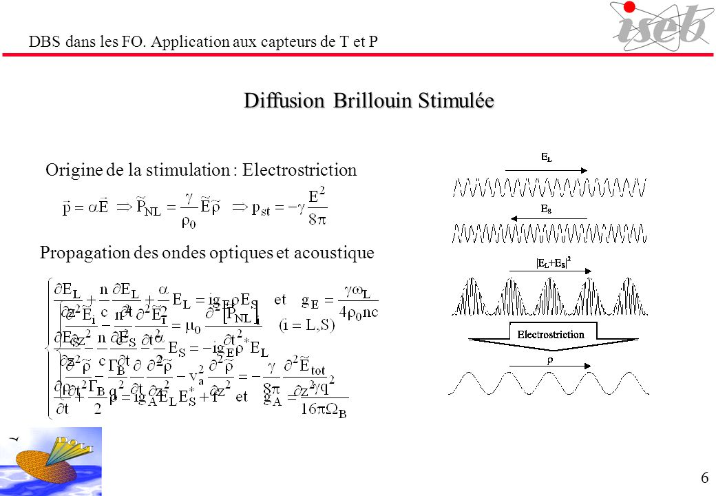 Diffusion Brillouin Stimulée
