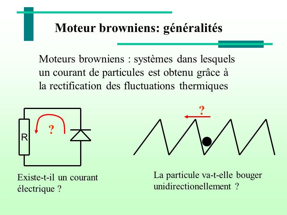 Moteur browniens: généralités