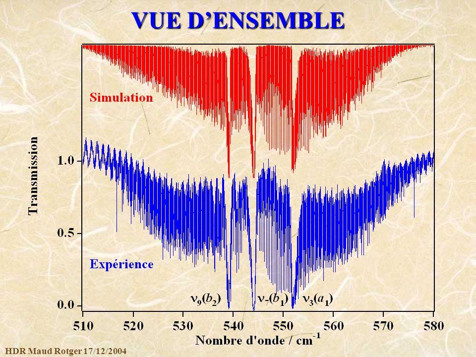 VUE D'ENSEMBLE HDR Maud Rotger 17/12/2004