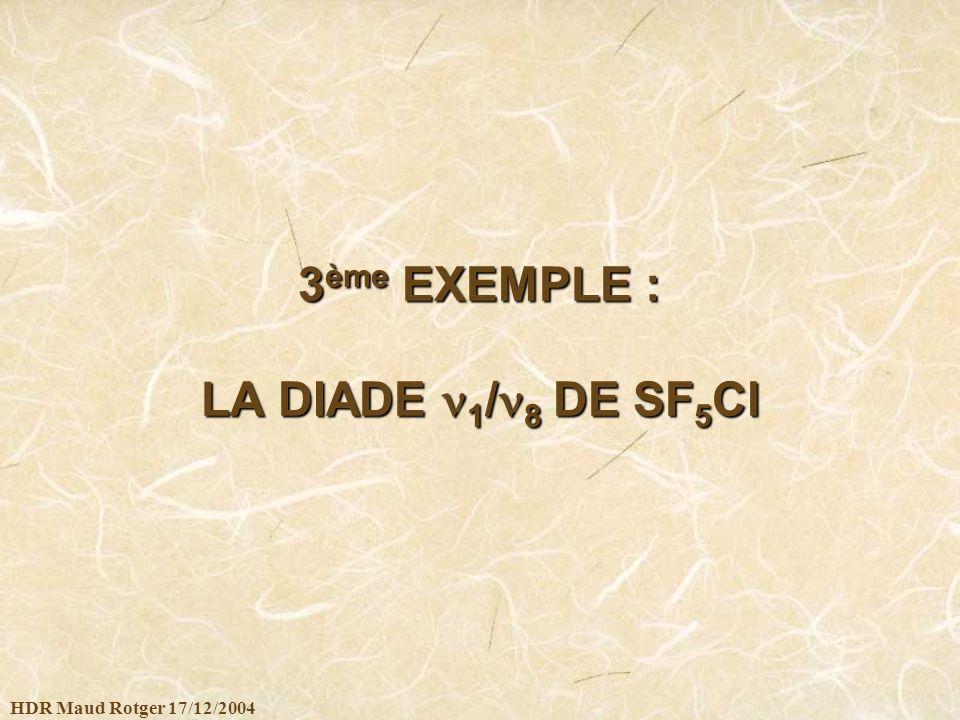 3ème EXEMPLE : LA DIADE 1/8 DE SF5Cl