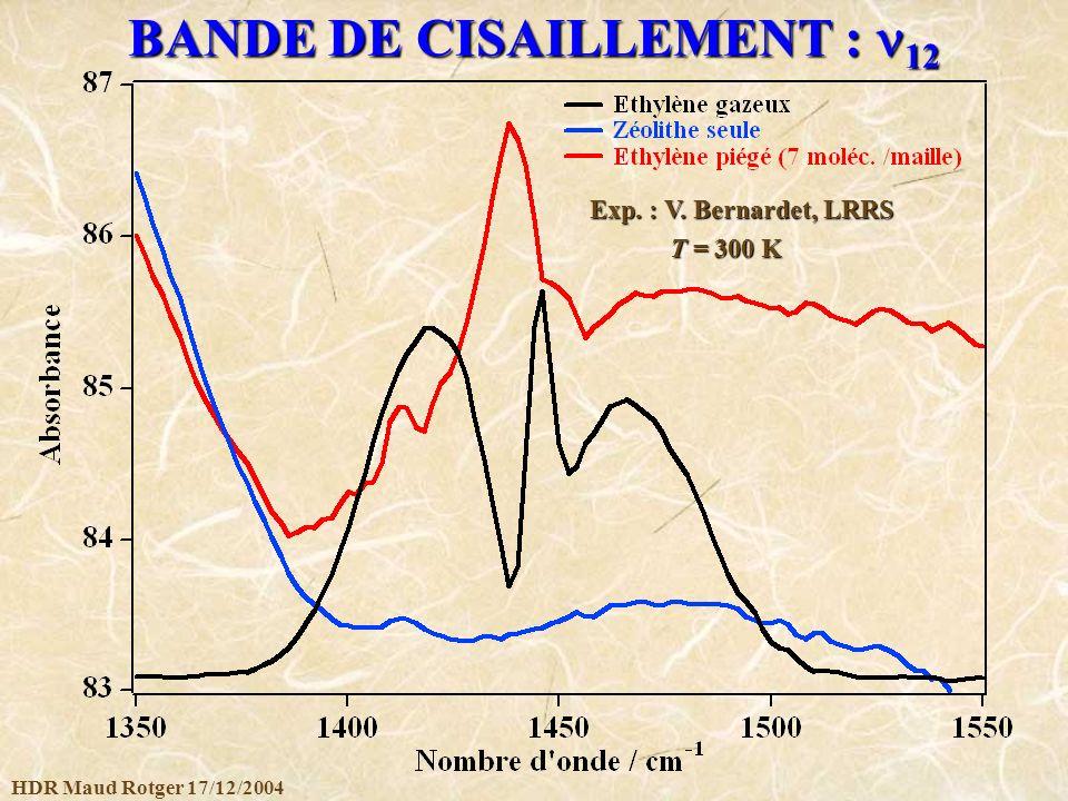 BANDE DE CISAILLEMENT : 12