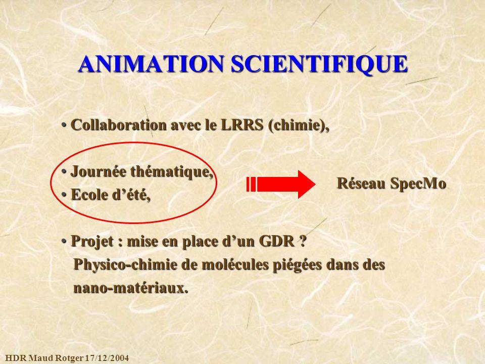 ANIMATION SCIENTIFIQUE