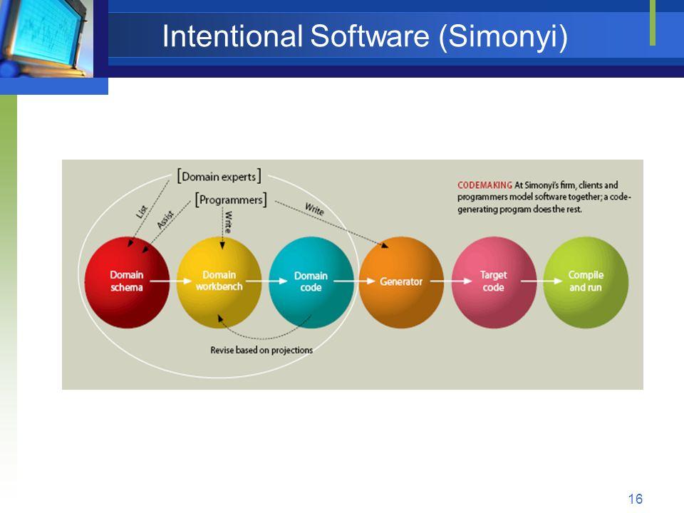 Intentional Software (Simonyi)