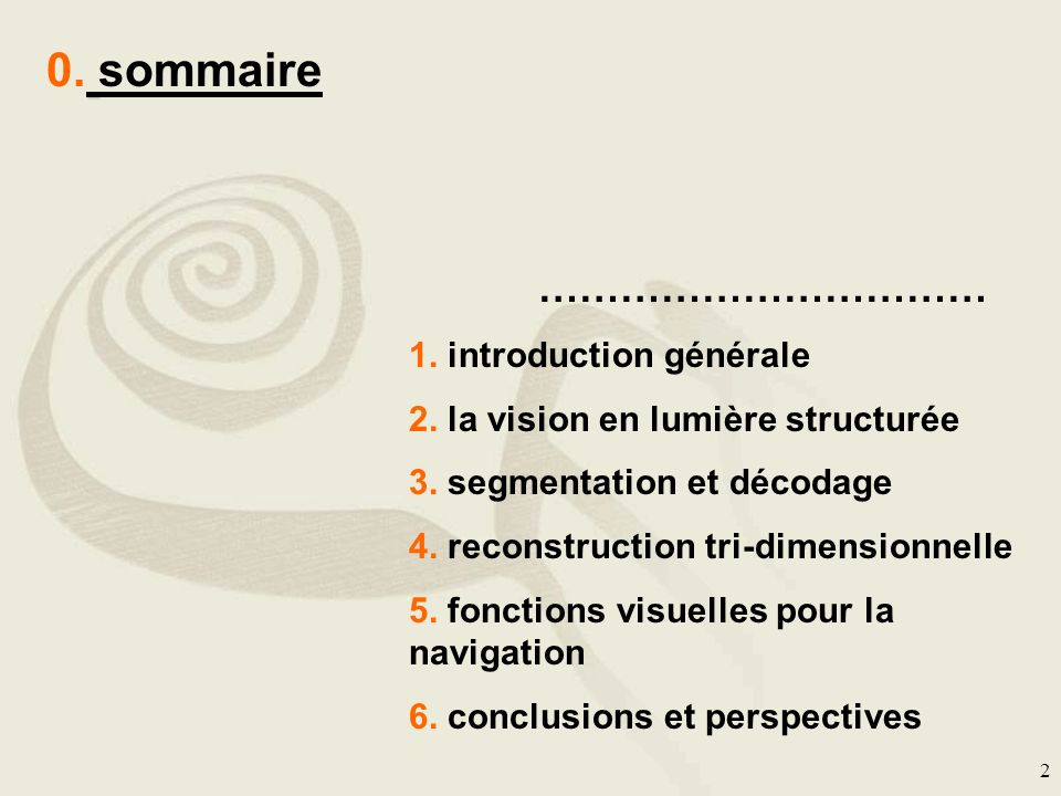 0. sommaire …………………………… 1. introduction générale