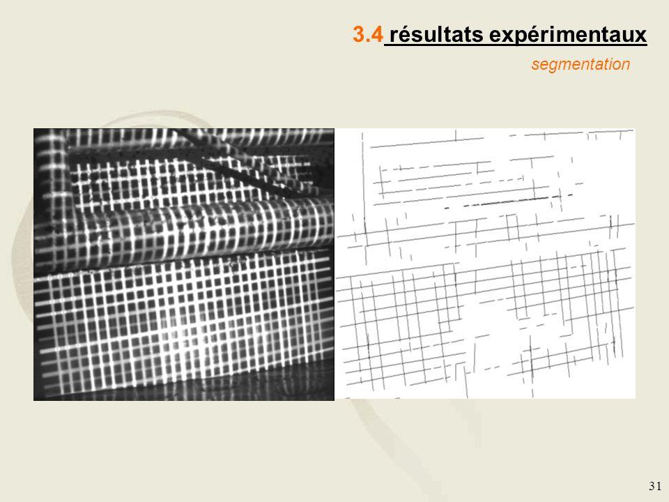 3.4 résultats expérimentaux