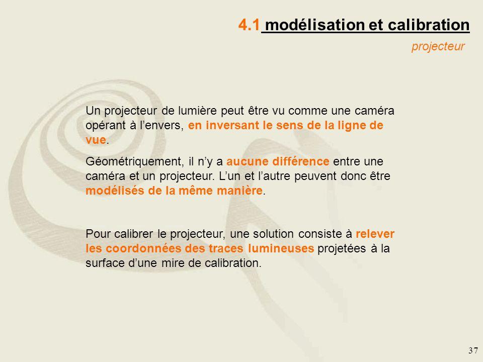 4.1 modélisation et calibration