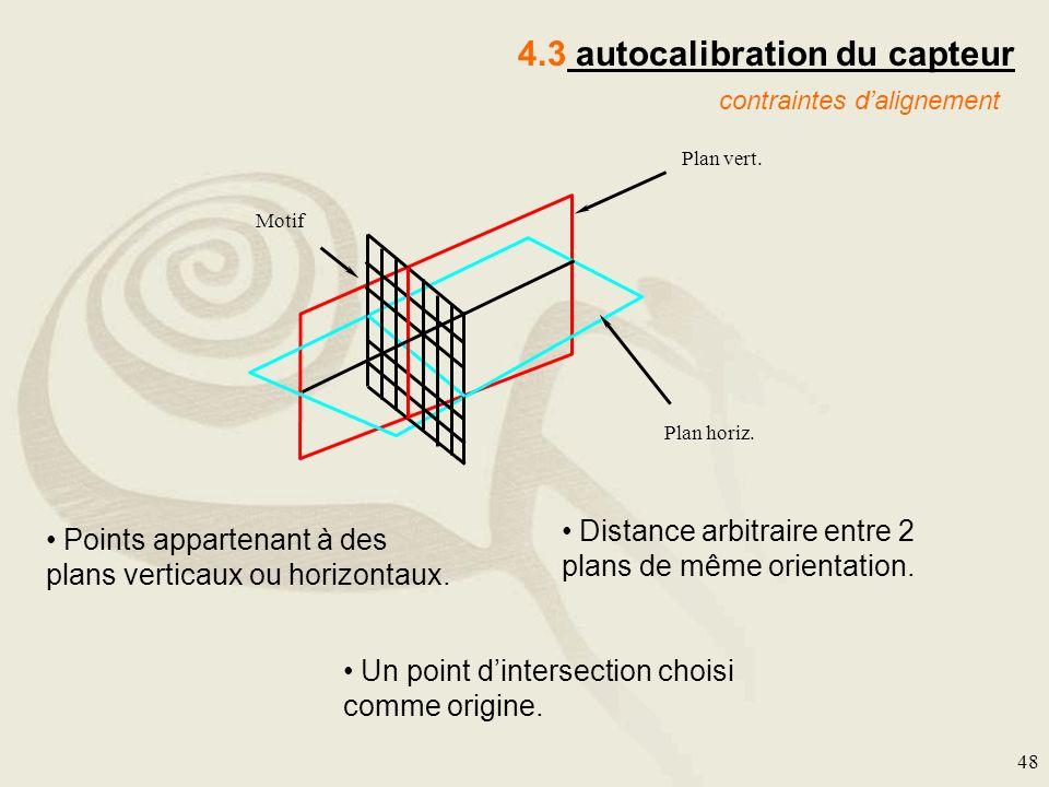 4.3 autocalibration du capteur