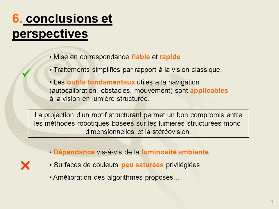 6. conclusions et perspectives
