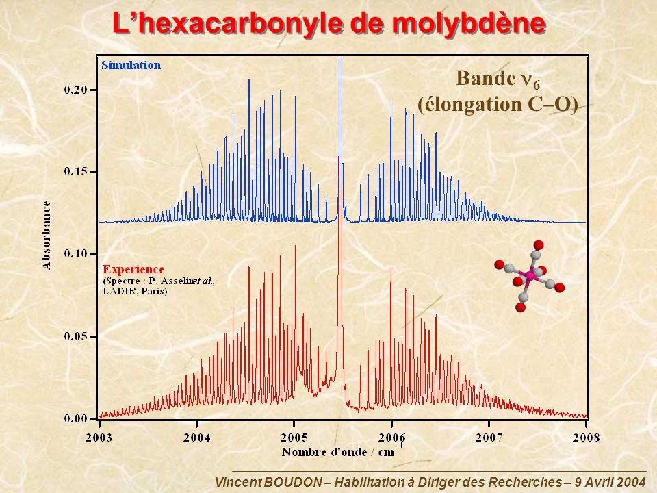 L'hexacarbonyle de molybdène