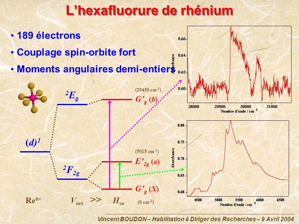 L'hexafluorure de rhénium