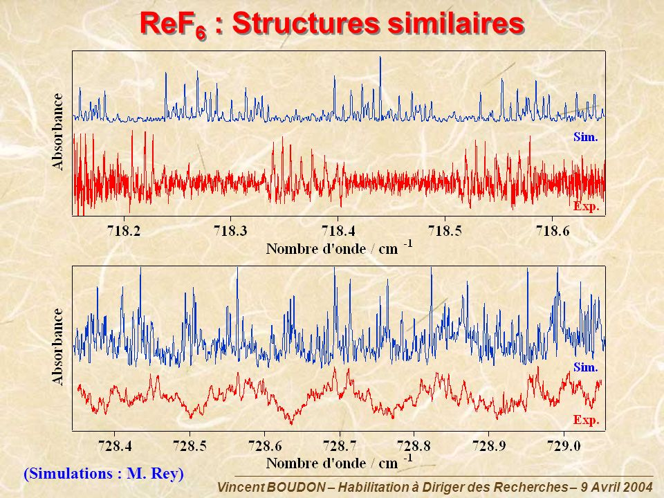 ReF6 : Structures similaires