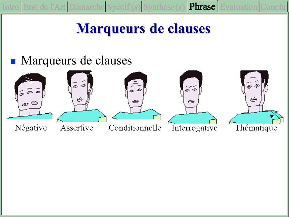 Marqueurs de clauses Marqueurs de clauses