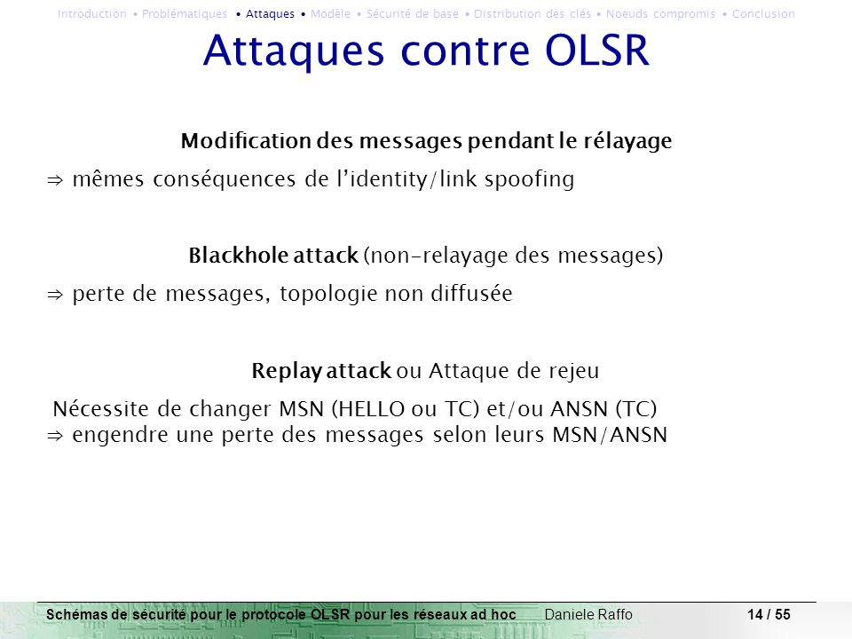 Modification des messages pendant le rélayage