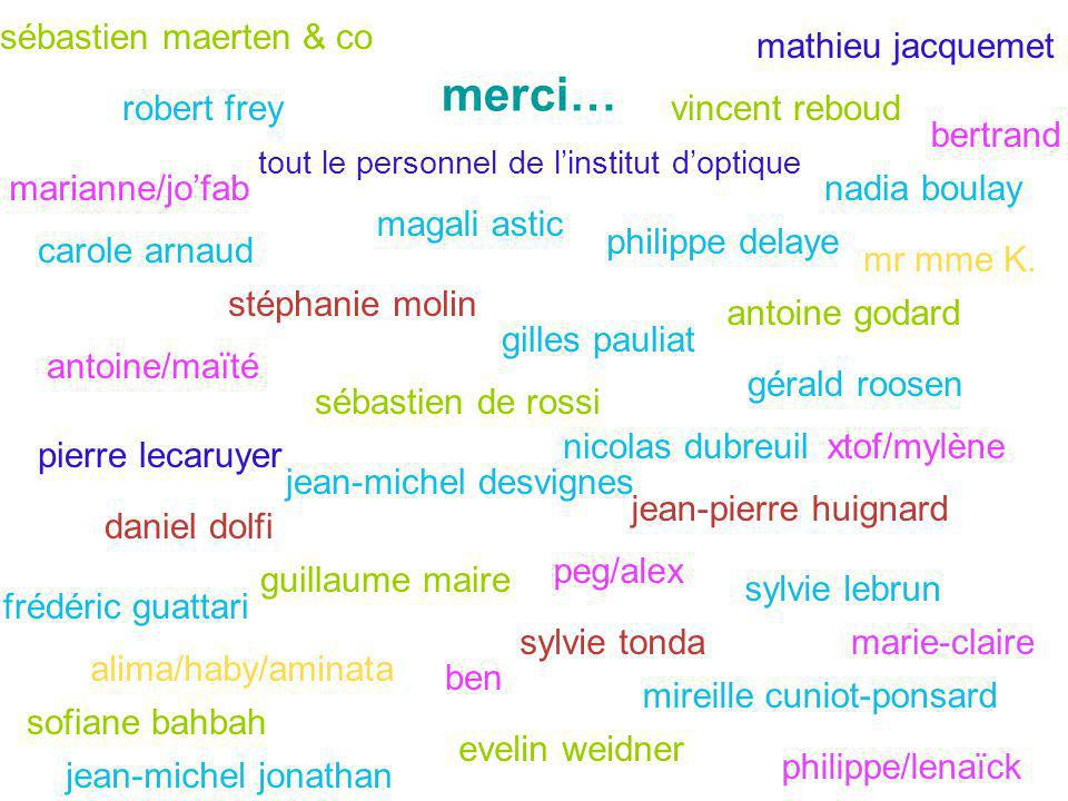 merci… sébastien maerten & co mathieu jacquemet robert frey