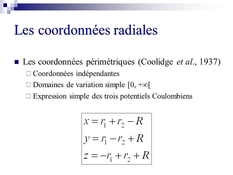 Les coordonnées radiales