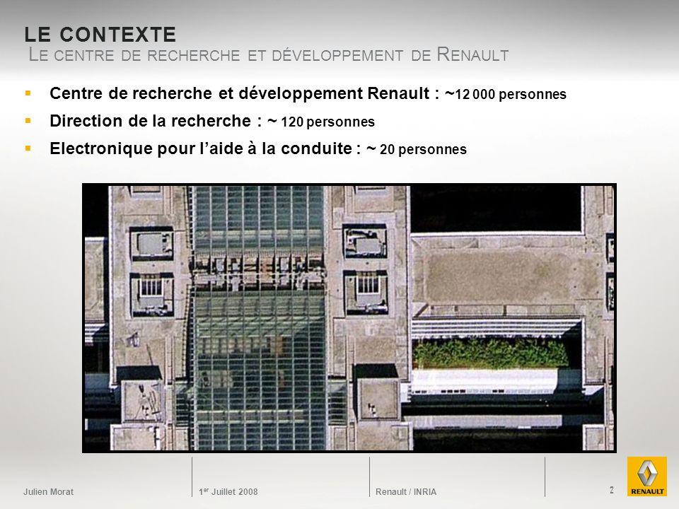 Le centre de recherche et développement de Renault