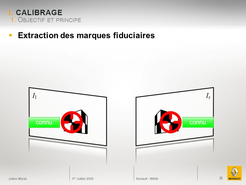 Extraction des marques fiduciaires