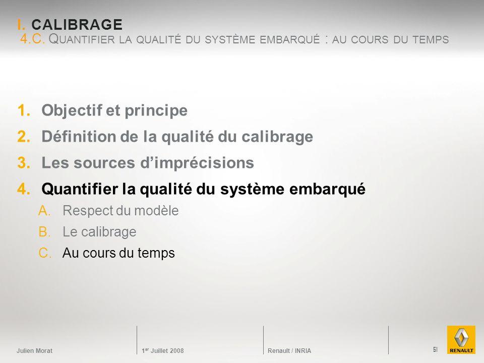 4.C. Quantifier la qualité du système embarqué : au cours du temps