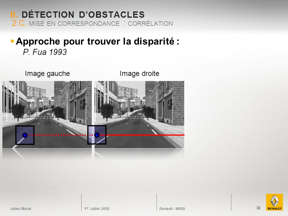 II. Détection d'obstacles