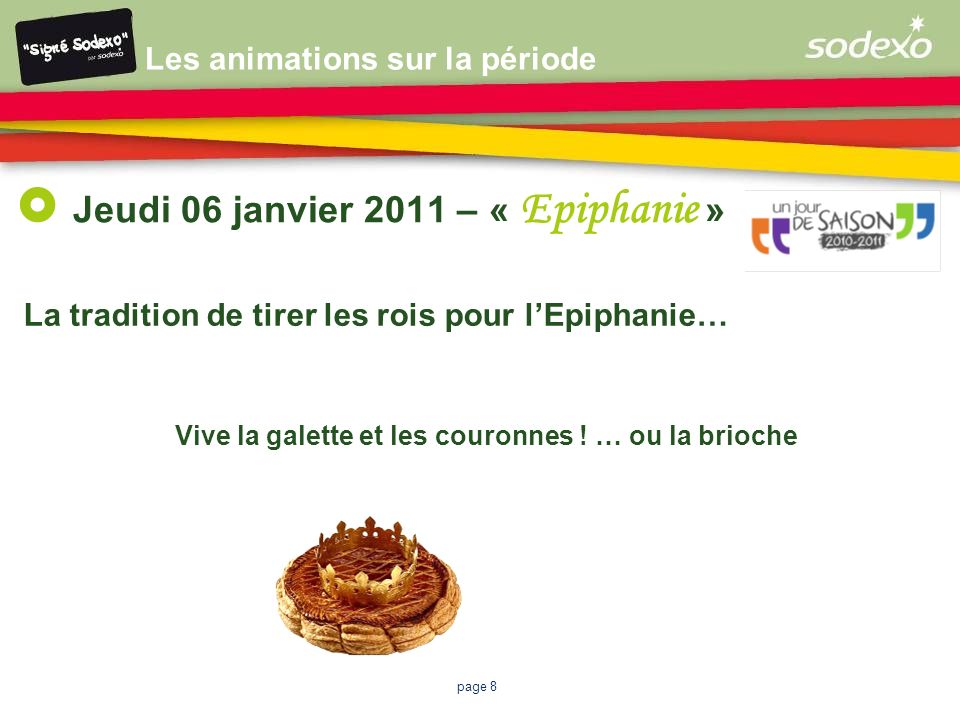 Jeudi 06 janvier 2011 – « Epiphanie »