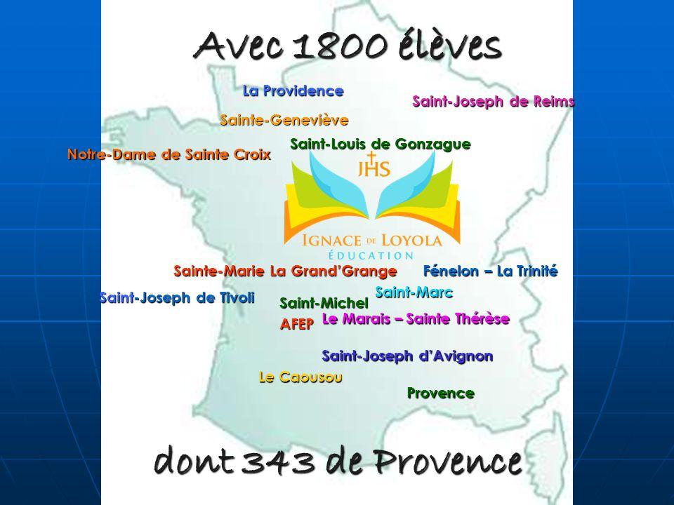 Avec 1800 élèves dont 343 de Provence La Providence