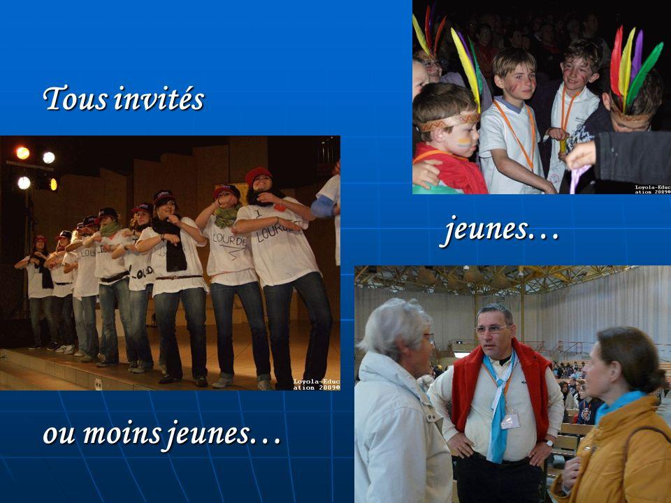 Tous invités jeunes… ou moins jeunes…