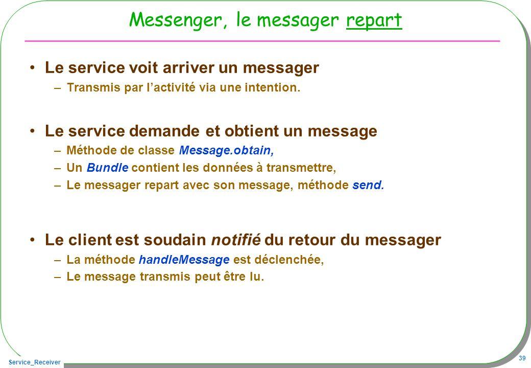 Messenger, le messager repart