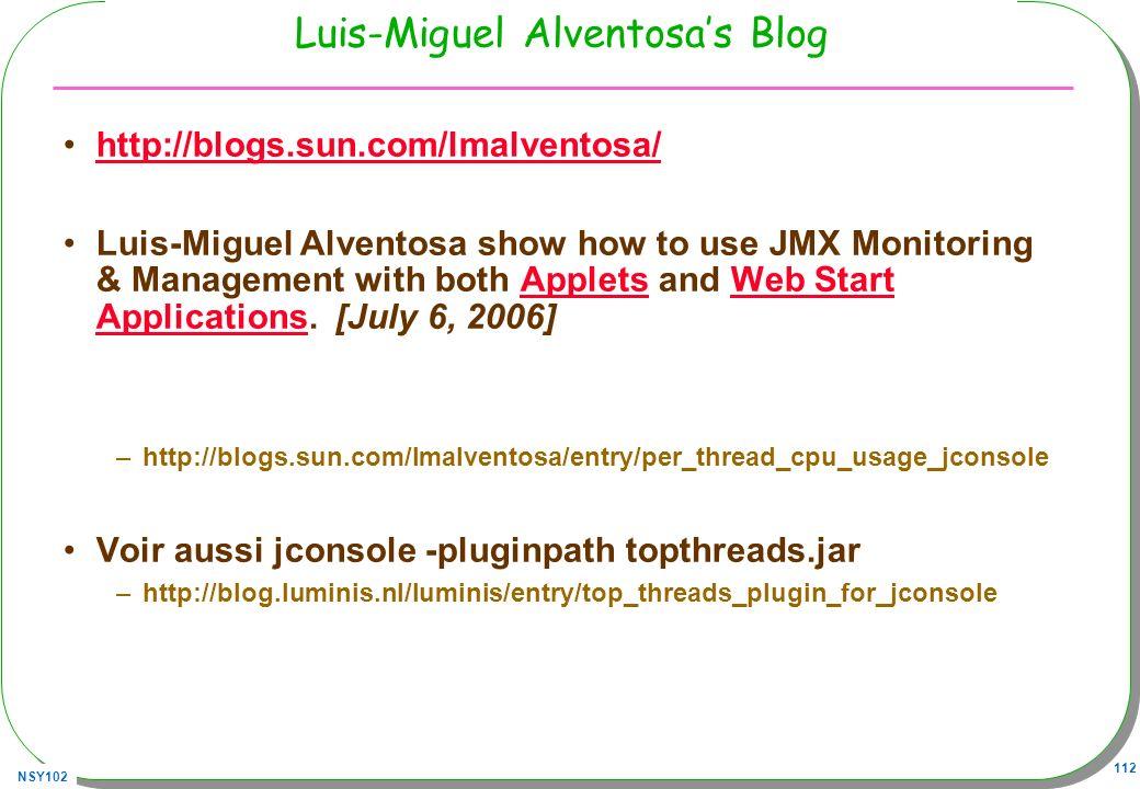 Luis-Miguel Alventosa's Blog