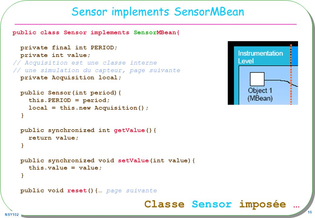Sensor implements SensorMBean