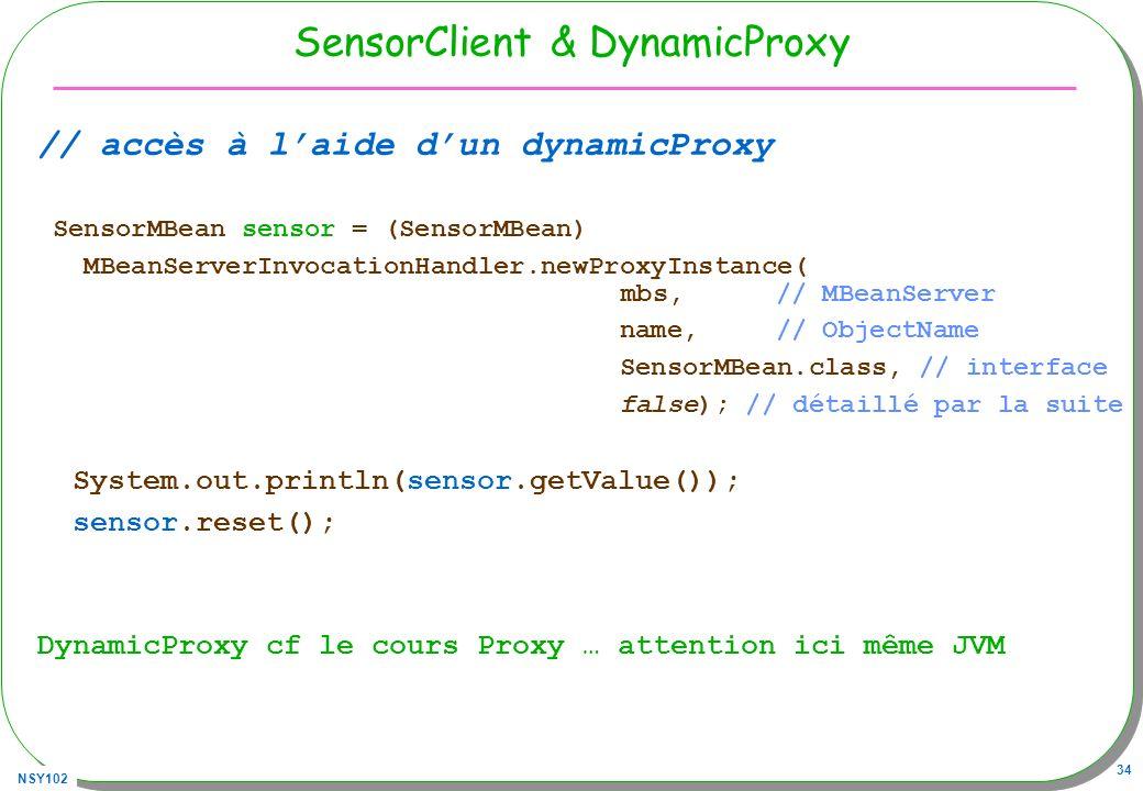 SensorClient & DynamicProxy