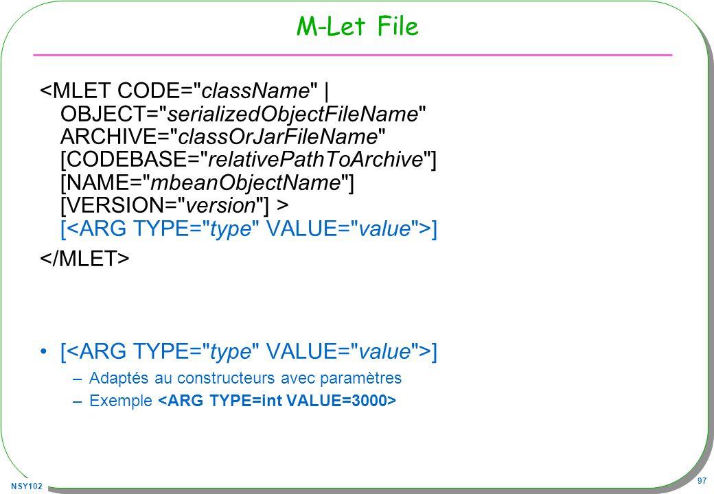 M-Let File